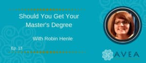 Robin Henle - Get Your Master's