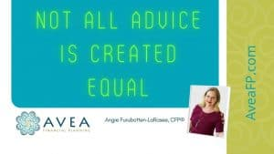 Not all financial advice is created equal